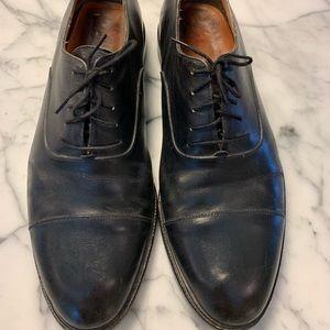 Salvatore Ferragamo Cap Toe Oxford Dress Shoes